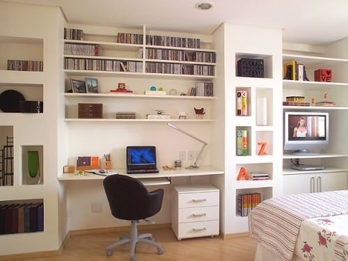 Ev Çalışma Odası Dekorasyon Fikirleri 6