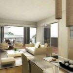 Modern Renkli Salon ve Oturma Odası Stilleri 8