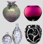 Dekoratif cam ve porselen vazo modelleri 8