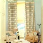 dekoratif perde desenleri ve modelleri - modern dekoratif acik renk perde 150x150
