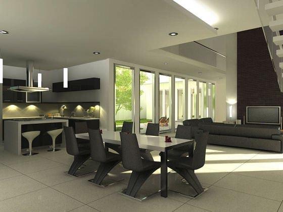 Modern Yemek Masası Ve Sandalye Modelleri 17