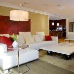 büyük oda mobilya dekorasyon
