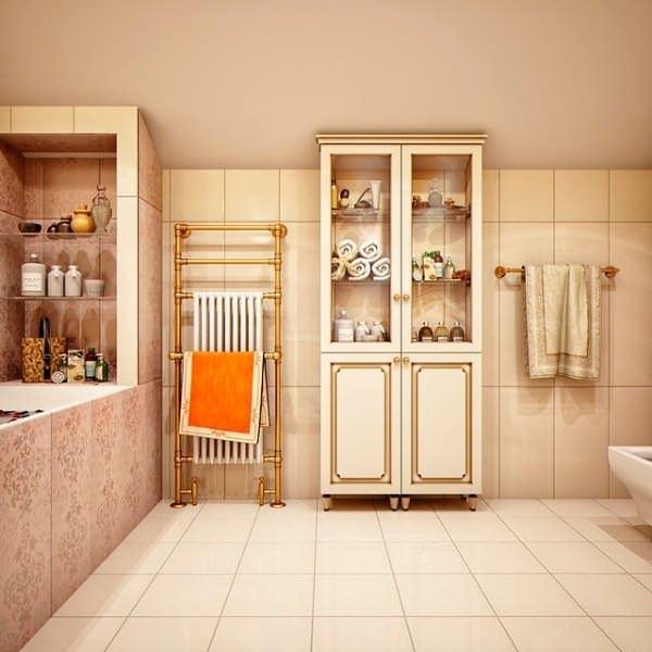 Ultra Lüks Dekorasyonlu Banyo Örnekleri 20