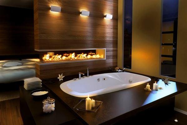 Güzel Banyo Küvet Tasarım Modelleri 8
