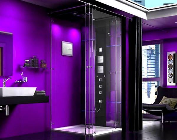 Buharlı Modern Duşa Kabin Modelleri 12