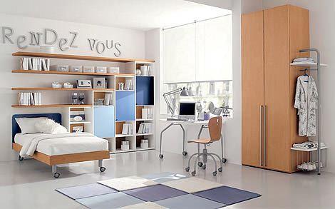 fonksiyonel çocuk odası ranzaları fonksiyonel renkli ranzalı genç odaları