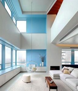 modern-minimalist-dubleks-daire-dekorasyonlari 1