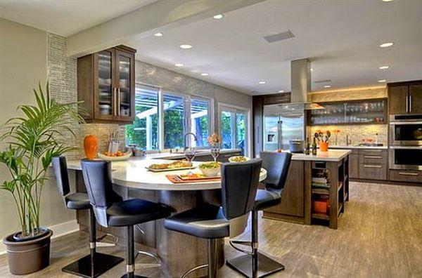 Mutfak Ve Yemek Masası Aydınlatma Modelleri 6