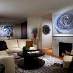 büyük oda için mobilya geniş oturma odası dekorasyon