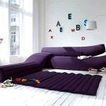 renkli koltuk takımlarıyla oda dekorasyonu - modern renkli kanepe modelleri 150x150