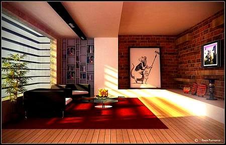 Modern Sanatsal Oda Tasarım Fikirleri 2