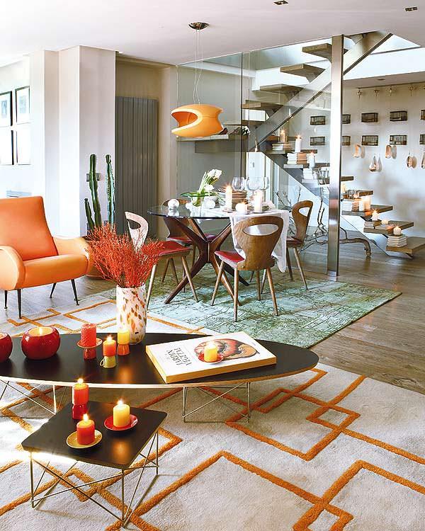modern-turuncu-ev-renk-duzeni