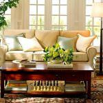 Çağdaş Hoş Sohbet Oturma Odası Dekorasyonu