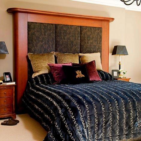 dekoratif yatak başlık
