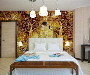 Dekoratif Yatak Odası Duvar Süsleme Örnekleri