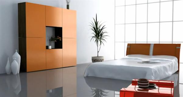 Modern Yatak Odası Tasarım Fikirleri 4