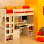 Kabinli Çocuk Odası Yatak Modelleri 6