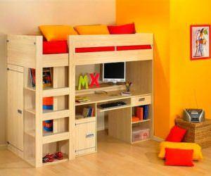 Kabinli Çocuk Odası Yatak Modelleri