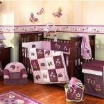 bebek odası hazırlamak - mor lila bebek odasi dekorasyonu 150x150 - Bebek odası dekorasyon fikirleri