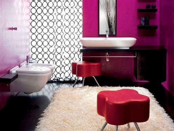 Mor ve Lila Renkli Oda Renk Dekorasyonları 5