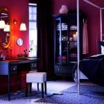mor ve lila renkli oda renk dekorasyonları - mor renkli duvarlar 150x150 - Mor ve Lila Renkli Oda Renk Dekorasyonları