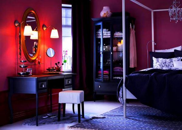 Mor ve Lila Renkli Oda Renk Dekorasyonları 6