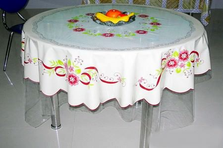 Mutfak Masası Örtü Modelleri 6