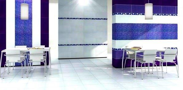 seramiksan - mutfak mavi beyaz fayans - Seramiksan Fayans ve Seramikleri