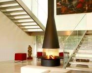 Şömineli Ev Dekorasyon Modelleri 12