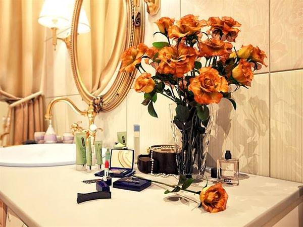 Ultra Lüks Dekorasyonlu Banyo Örnekleri 23