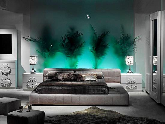 Modern renkli mobilya dekorasyon stilleri 2