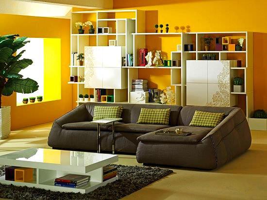 Modern renkli mobilya dekorasyon stilleri 4