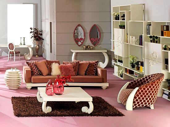 Modern renkli mobilya dekorasyon stilleri 7