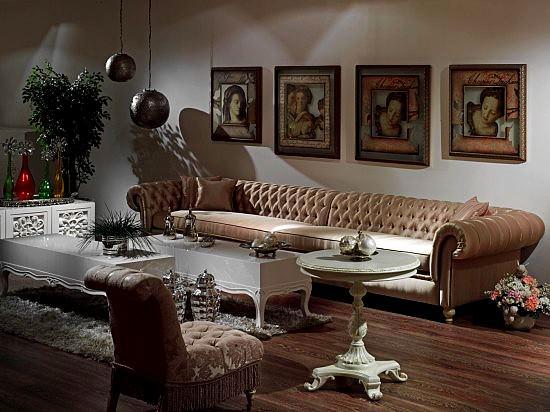 Modern renkli mobilya dekorasyon stilleri 1