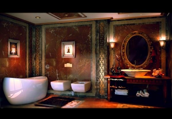 banyo süsleme
