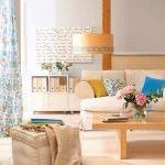 Renkli Yaza Özel Oturma Odası Dekorasyon Fikirleri 5