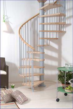 Oval Dubleks Daire Merdivenleri 4