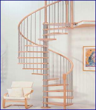 Oval Dubleks Daire Merdivenleri 5