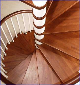 Oval Dubleks Daire Merdivenleri 6