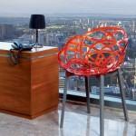 Dekoratif Modern Plastik Sandalye Modelleri 1