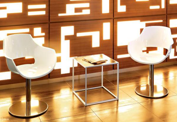 Dekoratif Modern Plastik Sandalye Modelleri 7