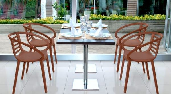 Dekoratif Modern Plastik Sandalye Modelleri 9