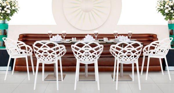 Dekoratif Modern Plastik Sandalye Modelleri 2