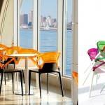 dekoratif modern plastik sandalye modelleri - papatya dekoratif plastik sandalye3 150x150