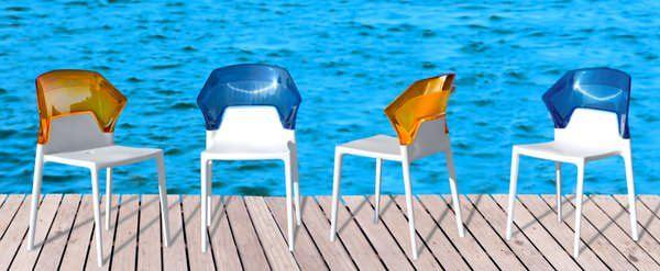 Dekoratif Modern Plastik Sandalye Modelleri 5