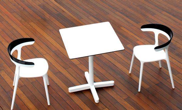 Dekoratif Modern Plastik Sandalye Modelleri 10