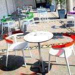 Dekoratif Modern Plastik Sandalye Modelleri 11