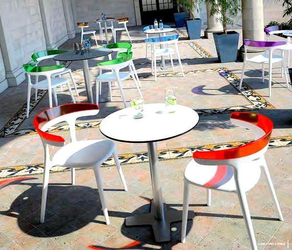 Dekoratif Modern Plastik Sandalye Modelleri