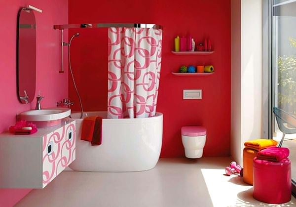 Pembe Renk Oda Dekorasyon Örnekleri 1