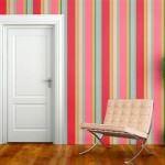 Çizgili Duvar Kağıdı Modelleri Ve Renkleri 2